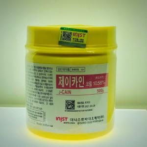 Крем анестезирующий j-cain 10,56 % лидокаина, 500 гр