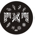 Пластина для стемпинг маникюра А36 (Корея)