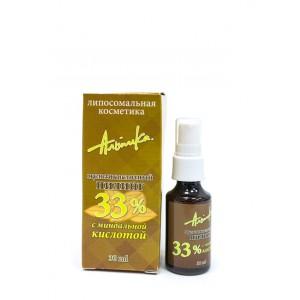 Мультикислотный пилинг с миндальной кислотой 33%, pH 1.3 - 30мл
