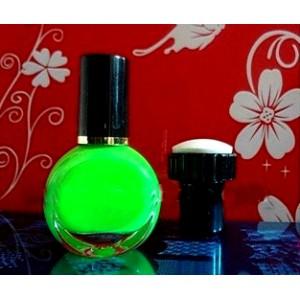 Лак (краска)  для стемпинг маникюра, цвет ядовито-зеленый, 7мл (Корея)